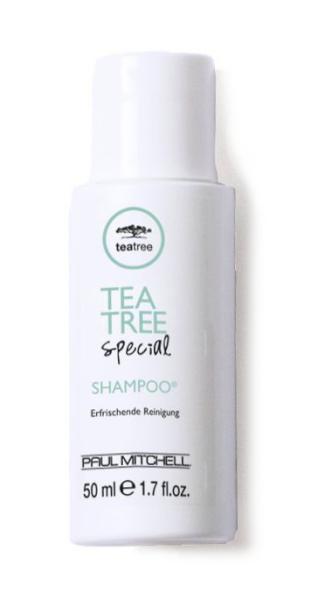 Osvěžující šampon na vlasy Paul Mitchell Tea Tree - 50 ml