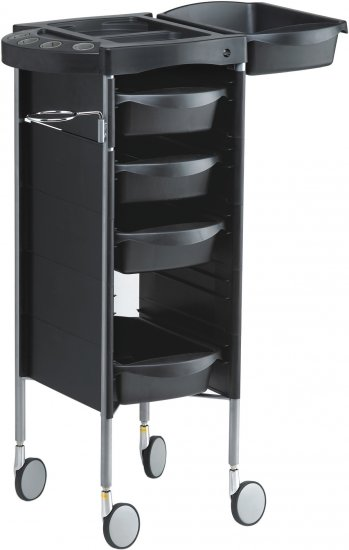 Kadeřnický vozík s přístavnou deskou Hairway Profi (50006) + DÁREK ZDARMA