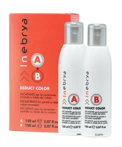 Částečná i úplná oprava barvení Inebrya Reduct Color - 150 + 150 ml (776396) + DÁREK ZDARMA