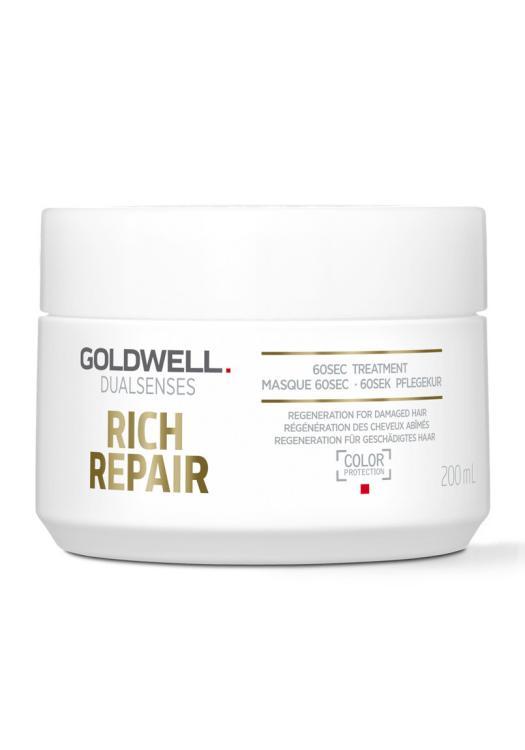 Maska na suché vlasy Goldwell DS Rich Repair - 200 ml (206139) + DÁREK ZDARMA