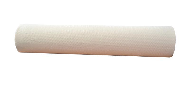 Jednorázová podložka na lůžka - bílá, perforovaná 60 cm x 50 m (1320700102) - Batist