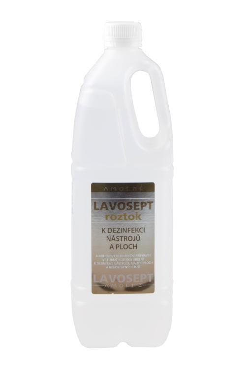 Dezinfekce nástrojů a ploch Amoené Lavosept - citron - 1000 ml (0132C1L001)
