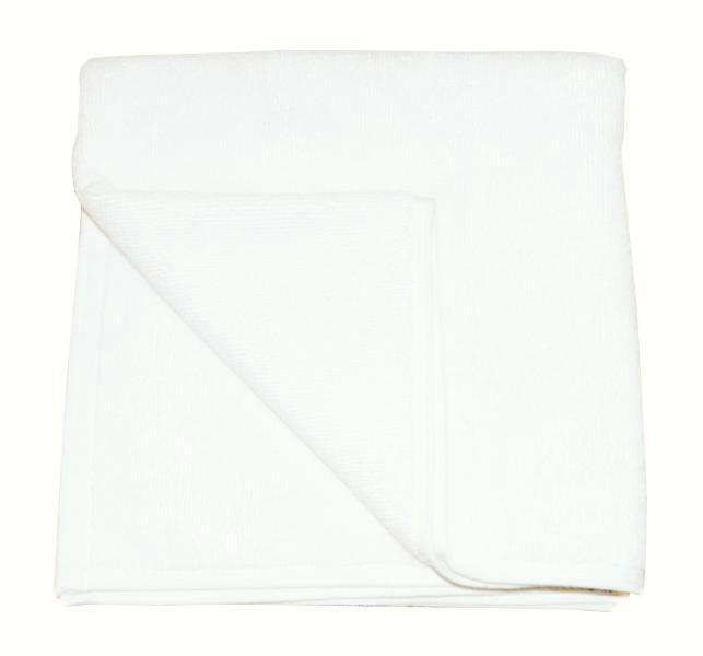 Ručník froté 50 x 100 cm - 100 % bavlna, 450g/m2, bílý, 1 ks (0100-2) - Kapatex