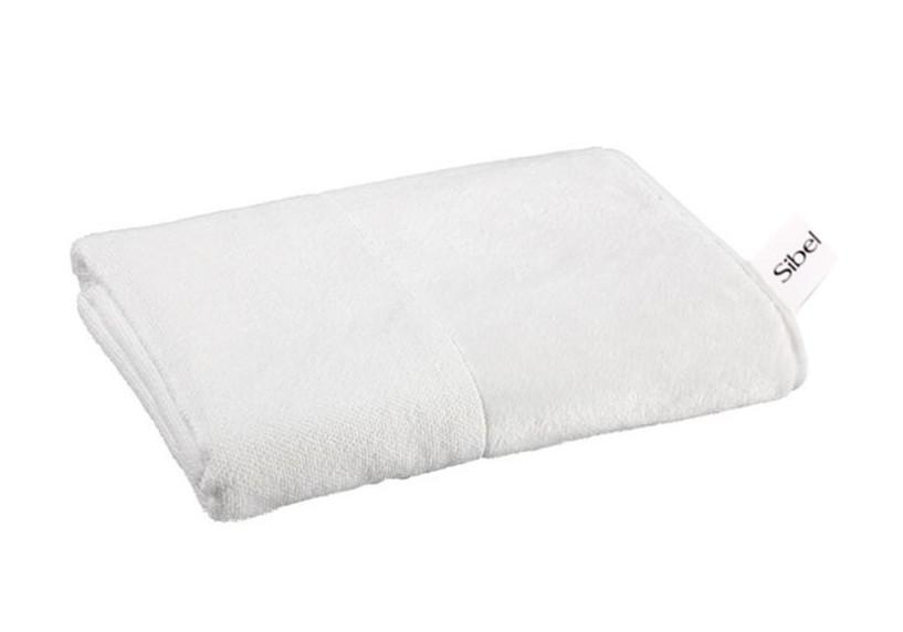 Ručník froté 80 x 50 cm, 100% bavlna, Sibel - bílý (3500301)