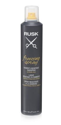 Extrémně tužící lak na vlasy RUSK Freezing Spray - 332 ml (IRFRZ10E) + DÁREK ZDARMA