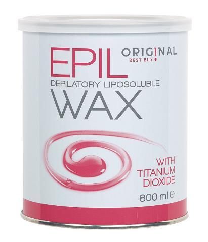 Depilační přírodní vosk Original Best Buy - růžový, 800 ml (7410824)