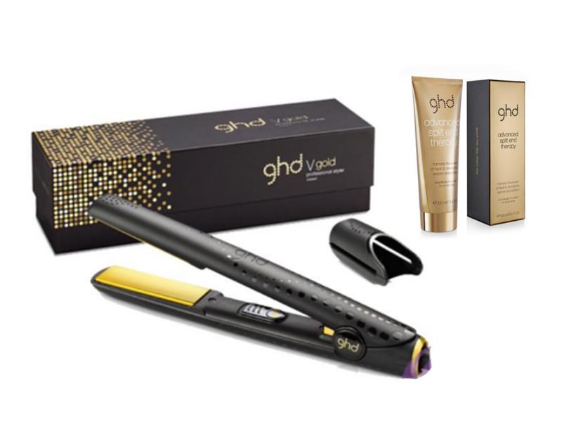 Dárková sada žehlička GHD Gold Classic styler a krém na konečky vlasů Advanced Split End Therapy (P_GHD_170201) + DÁREK ZDARMA