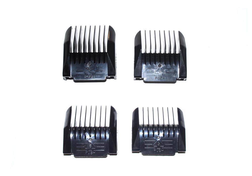 Sada náhradních nástavců pro strojek Iramoto Lux Hairway - 4ks (21003)