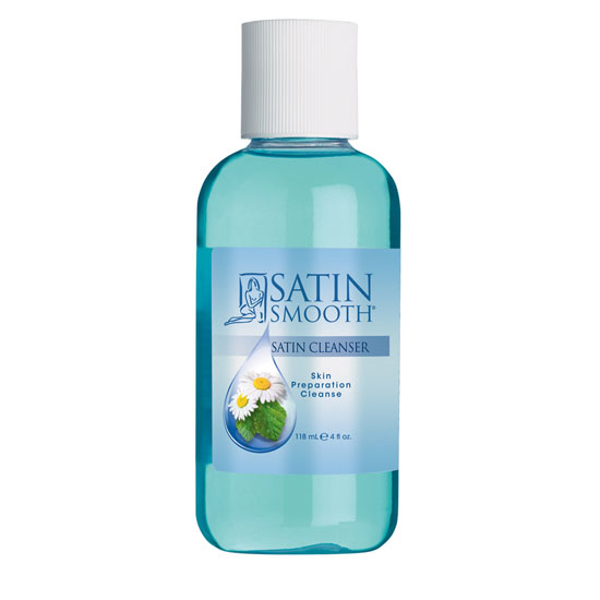 Satin Smooth Satin Cleanser pro přípravu před depilací - 118 ml (SSWLC4GE)