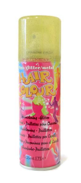 Barevný sprej na vlasy Sibel Hair Colour - zlaté třpytky (024000033)