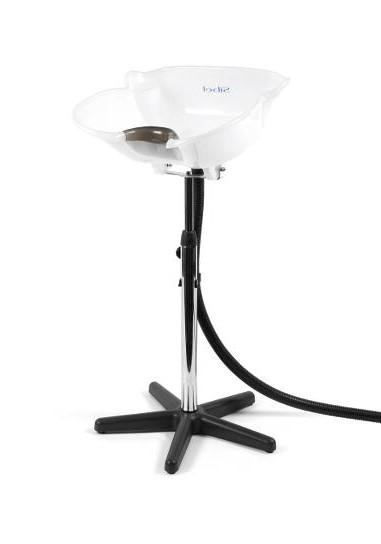 Kadeřnická mycí mísa Sibel Angels Bay - přenosná, bílá (0088001) + DÁREK ZDARMA