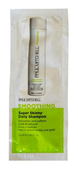 Uhlazující šampon Paul Mitchell Smoothing Super Skinny - 15 ml (104119)