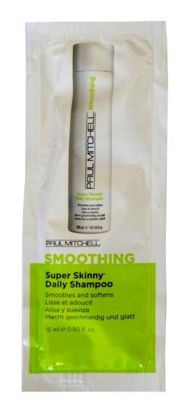 Uhlazující šampon Paul Mitchell Smoothing Super Skinny - 15 ml (104119)