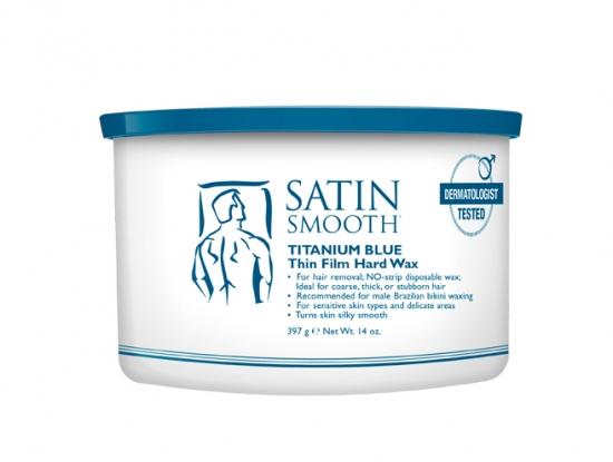 Satin Smooth depilační vosk pro muže azulen, vitamín E - 397 g (SSW14MPE) + DÁREK ZDARMA