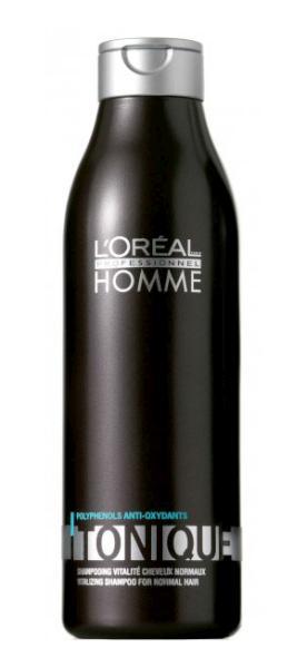Šampon Homme Tonique pro normální vlasy a výživu - 250 ml - Loréal Professionnel + DÁREK ZDARMA