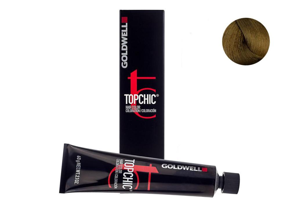 Barva na vlasy TopChic Goldwell 60 ml - odstín 7GB sahara blond béžová (201677) + DÁREK ZDARMA