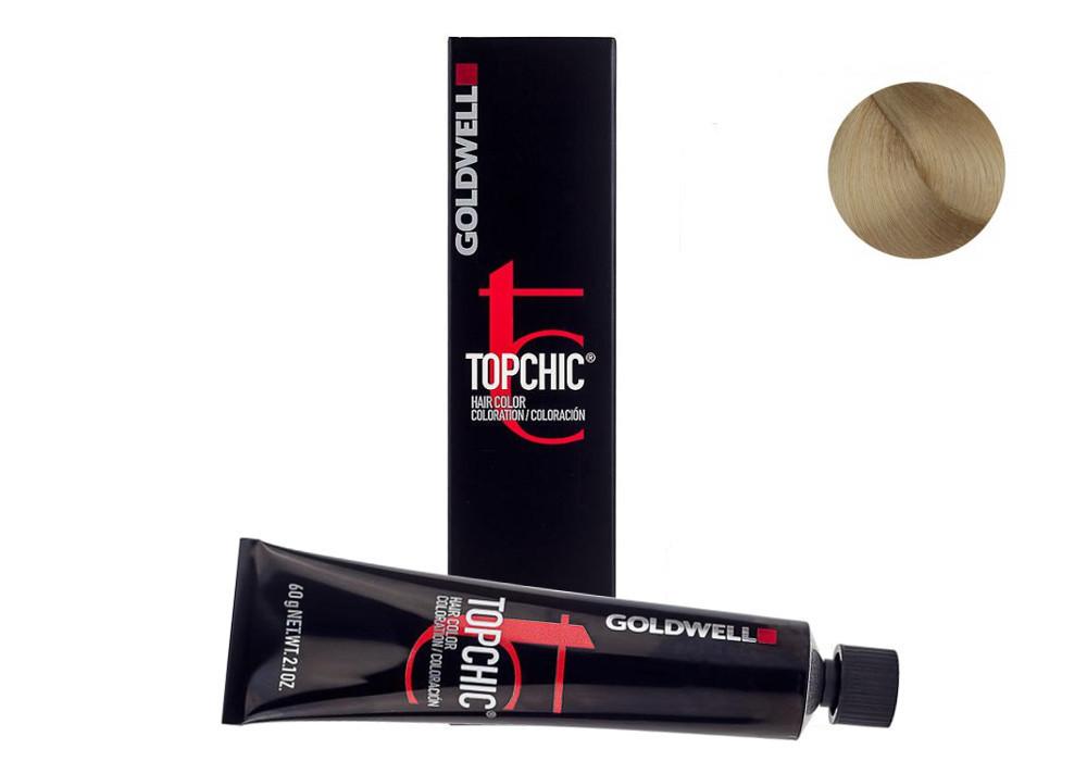 Barva na vlasy TopChic Goldwell 60 ml - odstín 9NA velmi přírodní popelavá blond (201619) + DÁREK ZDARMA