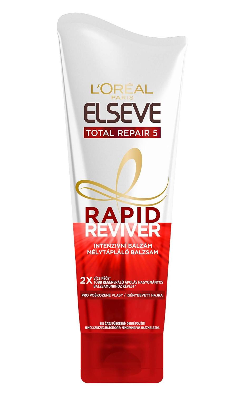 Intenzivní balzám pro poškozené vlasy Loréal Elseve Total Repair 5 Rapid Reviver - 180 ml