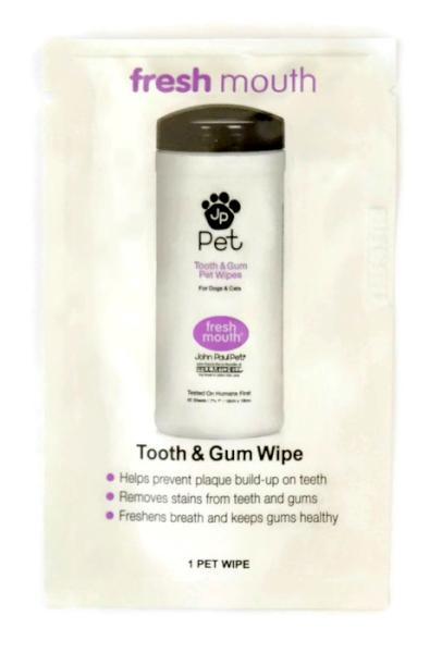 Vlhčený ubrousek pro zuby a dásně Paul Mitchell JP Pet - 1 ks (800141)