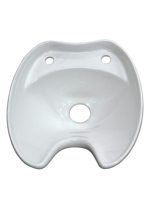 Umyvadlo pro mycí box Detail - keramické, bílé (DHS-0356) + DÁREK ZDARMA