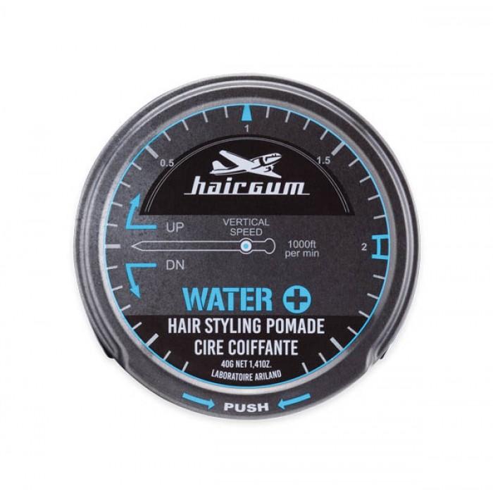 Pomáda na vlasy Hairgum, Water+, 40 g (0229033) + DÁREK ZDARMA