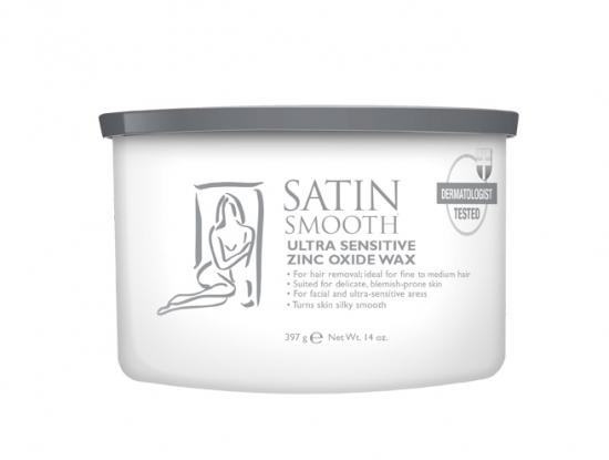 Satin Smooth depilační vosk zinek - 397 g (SSW14ZOG) + DÁREK ZDARMA